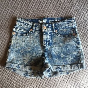 Mossimo Tribal High-rise Jean Shorts